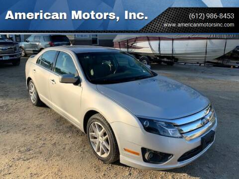 2010 Ford Fusion for sale at American Motors, Inc. in Farmington MN