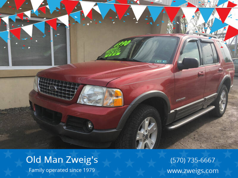 2005 Ford Explorer for sale at Old Man Zweig's in Plymouth Township PA