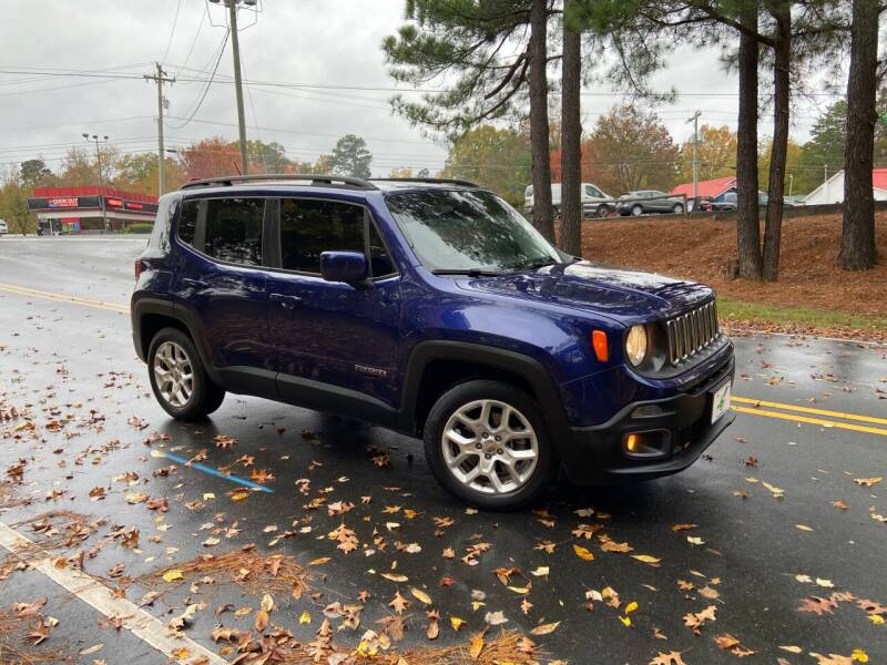 2016 Jeep Renegade for sale at THE AUTO FINDERS in Durham NC