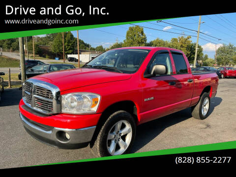 2008 Dodge Ram Pickup 1500 for sale at Drive and Go, Inc. in Hickory NC