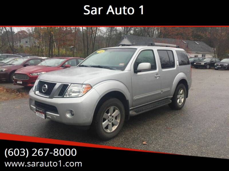 2008 Nissan Pathfinder for sale at Sar Auto 1 in Belmont NH