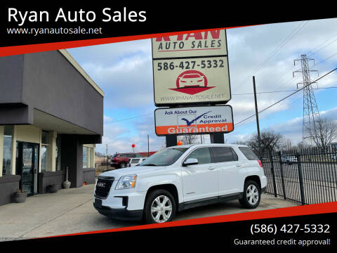 2017 GMC Terrain for sale at Ryan Auto Sales in Warren MI