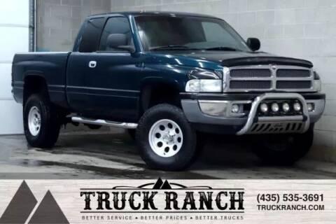 1999 Dodge Ram Pickup 1500 for sale at Truck Ranch in Logan UT