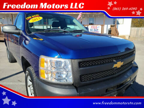 2013 Chevrolet Silverado 1500 for sale at Freedom Motors LLC in Knoxville TN