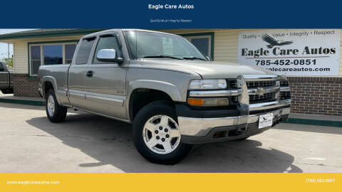 2002 Chevrolet Silverado 1500 for sale at Eagle Care Autos in Mcpherson KS