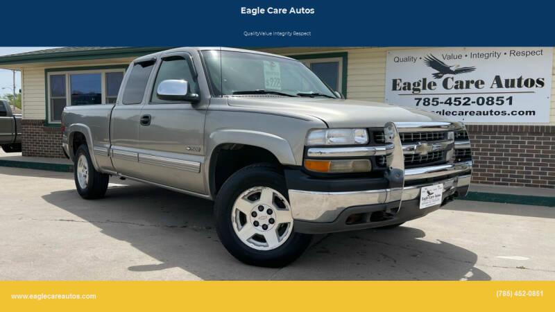 2002 Chevrolet Silverado 1500 for sale at Eagle Care Autos in Mcpherson KS