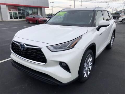 2021 Toyota Highlander Hybrid for sale at White's Honda Toyota of Lima in Lima OH