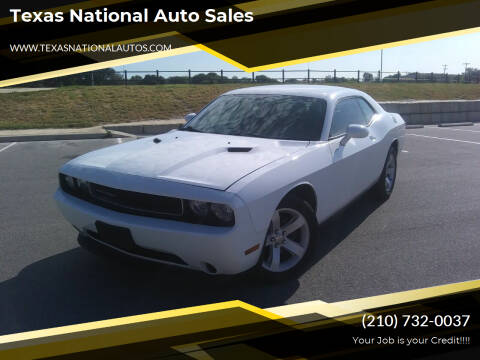 2014 Dodge Challenger for sale at Texas National Auto Sales in San Antonio TX
