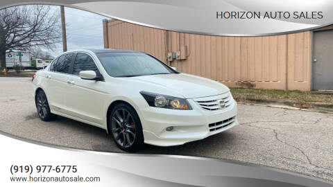 2011 Honda Accord for sale at Horizon Auto Sales in Raleigh NC
