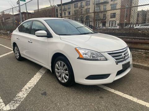 2013 Nissan Sentra for sale at Gallery Auto Sales in Bronx NY