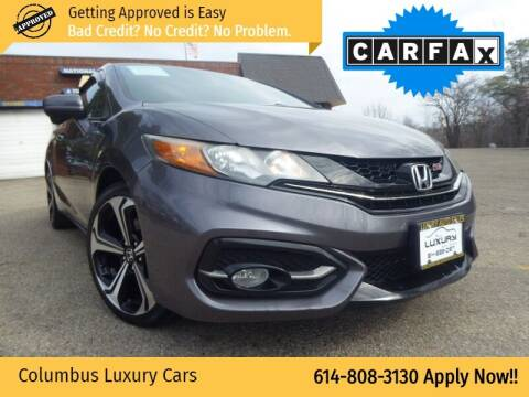 2015 Honda Civic for sale at Columbus Luxury Cars in Columbus OH