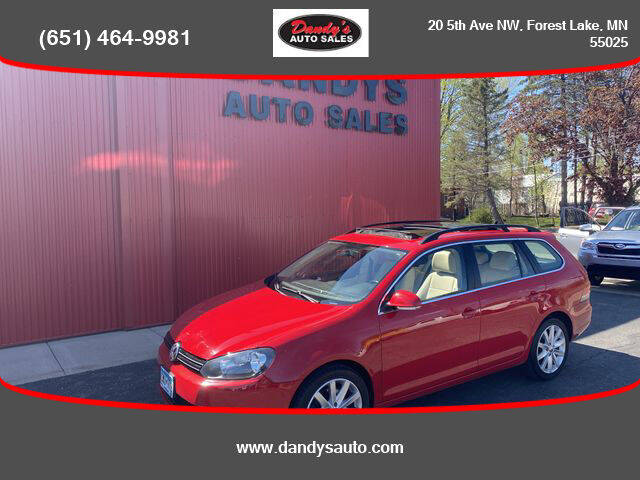 2011 Volkswagen Jetta for sale at Dandy's Auto Sales in Forest Lake MN
