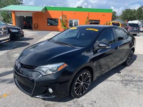 2016 Toyota Corolla for sale at Galaxy Auto Service, Inc. in Orlando FL
