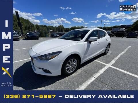 2017 Mazda MAZDA3 for sale at Impex Auto Sales in Greensboro NC