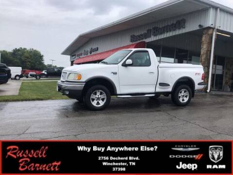 2003 Ford F-150 for sale at Russell Barnett Chrysler Dodge Jeep Ram in Winchester TN