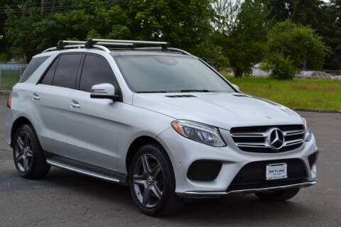 2017 Mercedes-Benz GLE for sale at Skyline Motors Auto Sales in Tacoma WA