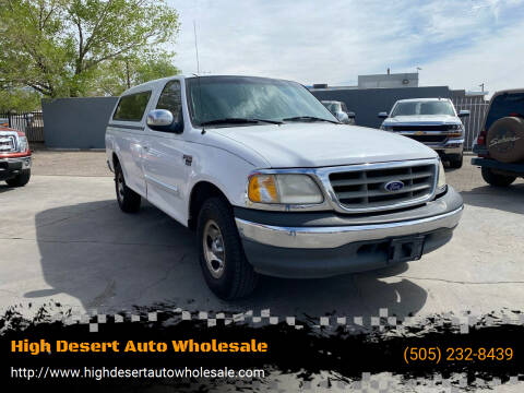 2000 Ford F-150 for sale at High Desert Auto Wholesale in Albuquerque NM