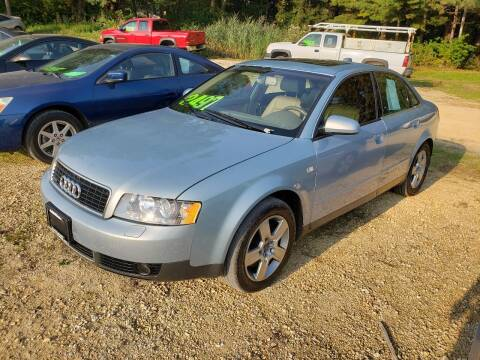 2004 Audi A4 for sale at Northwoods Auto & Truck Sales in Machesney Park IL