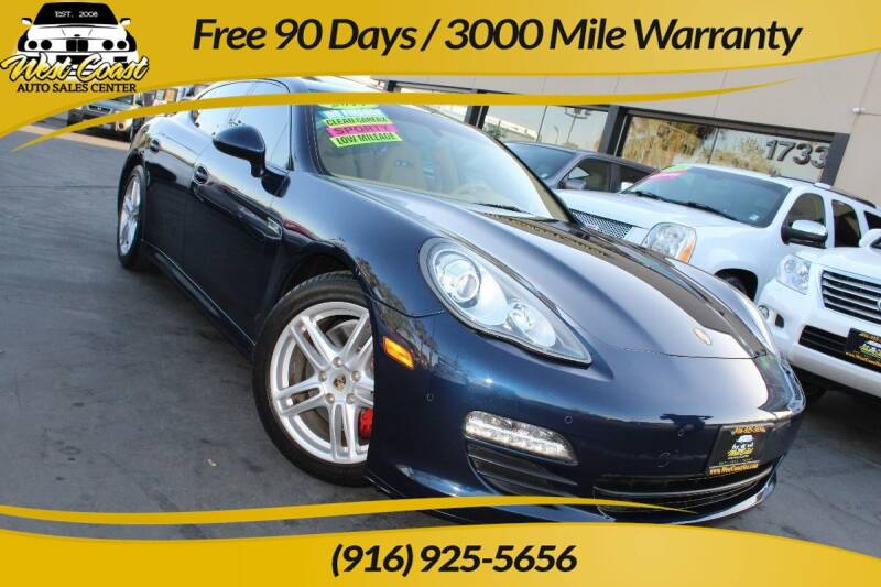 2011 Porsche Panamera for sale at West Coast Auto Sales Center in Sacramento CA