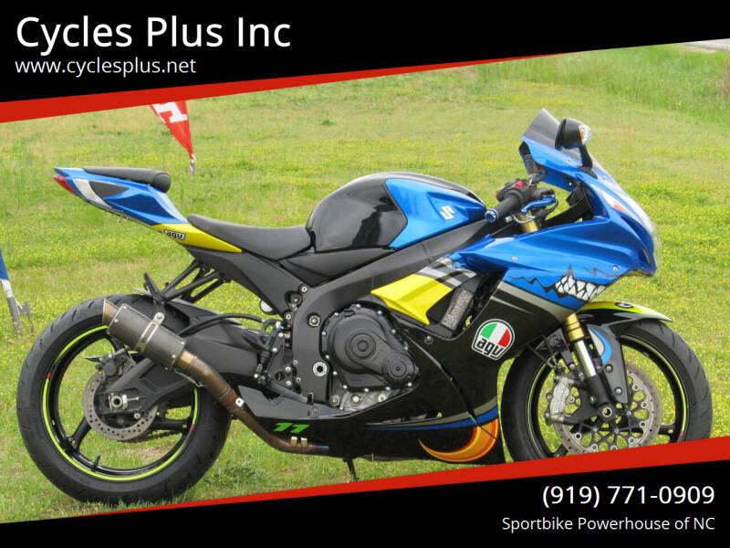2018 Suzuki GSXR 750 for sale at Cycles Plus Inc in Garner NC