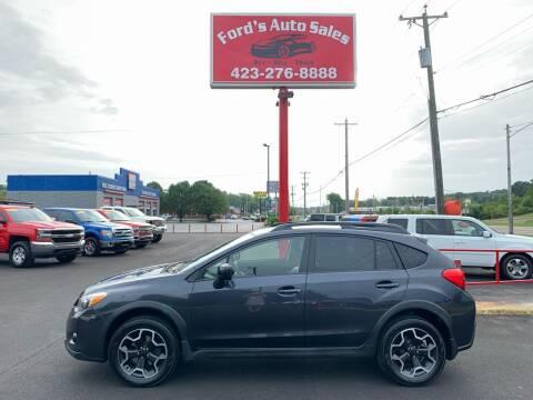 2014 Subaru XV Crosstrek for sale at Ford's Auto Sales in Kingsport TN