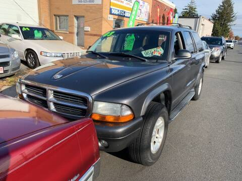 2003 Dodge Durango for sale at Frank's Garage in Linden NJ