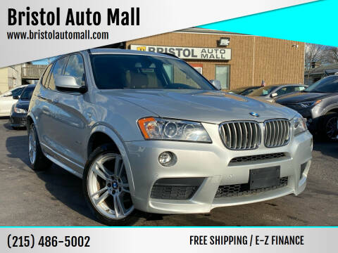 2013 BMW X3 for sale at Bristol Auto Mall in Levittown PA
