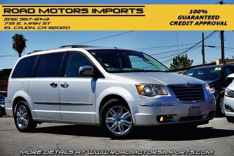 2008 Chrysler Town and Country for sale at Road Motors Imports in El Cajon CA