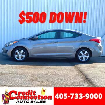 2011 Hyundai Elantra for sale at Credit Connection Auto Sales in Midwest City OK