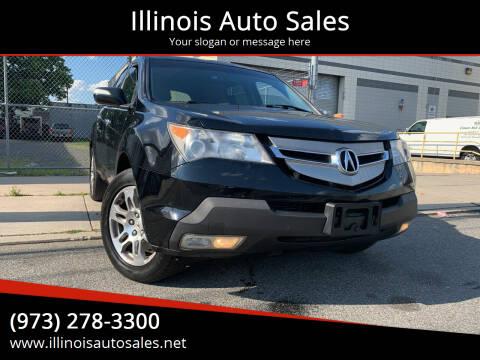2008 Acura MDX for sale at Illinois Auto Sales in Paterson NJ