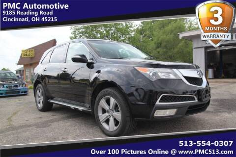 2010 Acura MDX for sale at PMC Automotive in Cincinnati OH