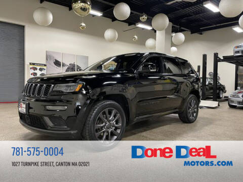 2019 Jeep Grand Cherokee for sale at DONE DEAL MOTORS in Canton MA