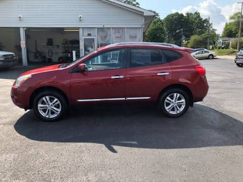 2013 Nissan Rogue for sale at J&J Car and Truck Sales in North Canton OH