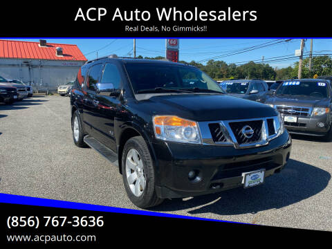 2008 Nissan Armada for sale at ACP Auto Wholesalers in Berlin NJ