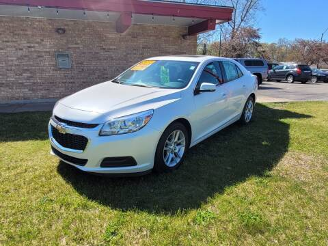 2015 Chevrolet Malibu for sale at Murdock Used Cars in Niles MI