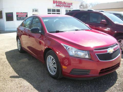 2011 Chevrolet Cruze for sale at Wildcat Motors - Main Branch in Junction City KS