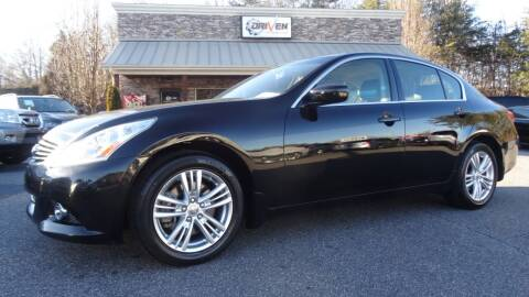 2013 Infiniti G37 Sedan for sale at Driven Pre-Owned in Lenoir NC