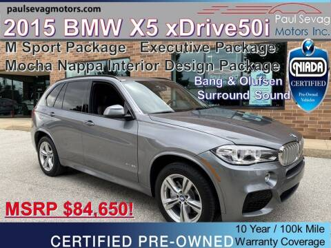2015 BMW X5 for sale at Paul Sevag Motors Inc in West Chester PA