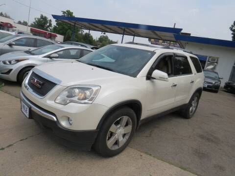 2010 GMC Acadia for sale at Nile Auto Sales in Denver CO