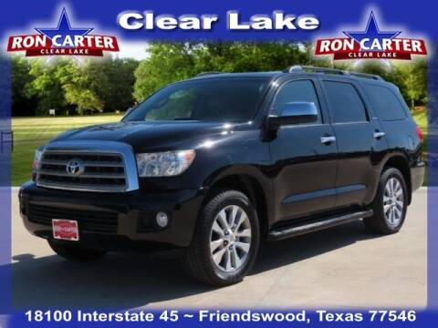 2016 Toyota Sequoia for sale at Ron Carter  Clear Lake Used Cars in Houston TX