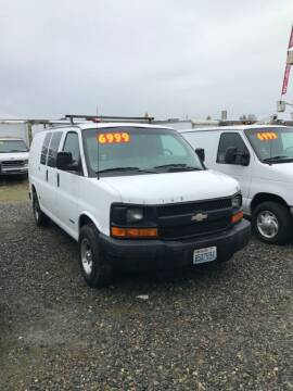 2004 Chevrolet Express Cargo for sale at Royal Auto Sales, LLC in Algona WA
