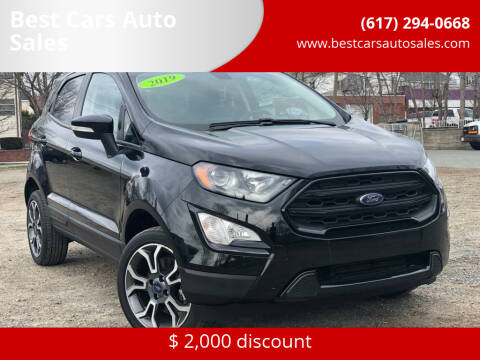 2019 Ford EcoSport for sale at Best Cars Auto Sales in Everett MA