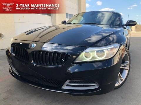 2014 BMW Z4 for sale at European Motors Inc in Plano TX