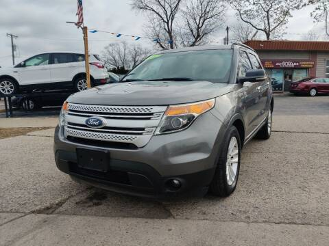 2012 Ford Explorer for sale at Lamarina Auto Sales in Dearborn Heights MI