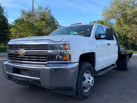 2015 Chevrolet Silverado 3500HD for sale at LUXURY AUTO MALL in Tampa FL