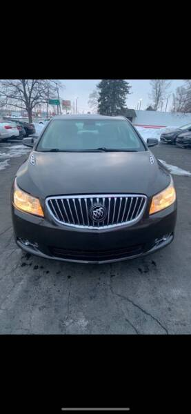 2013 Buick LaCrosse for sale at Motornation Auto Sales in Toledo OH