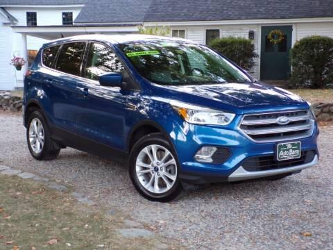 2017 Ford Escape for sale at The Auto Barn in Berwick ME