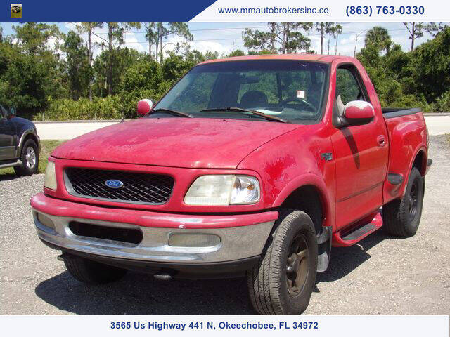 1997 Ford F-150 for sale at M & M AUTO BROKERS INC in Okeechobee FL