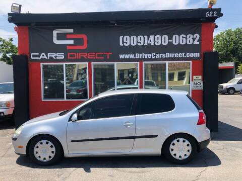 2009 Volkswagen Rabbit for sale at Cars Direct in Ontario CA