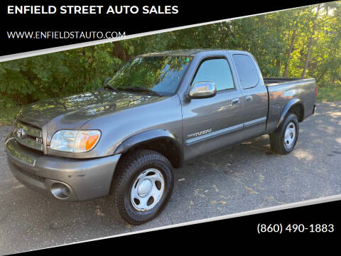 2005 Toyota Tundra for sale at ENFIELD STREET AUTO SALES in Enfield CT